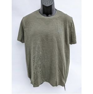 Asics SEAMLESS SS  running TOP size L olive.